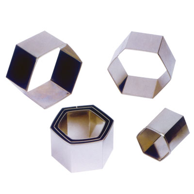 MY43030-6套装六角形面团切割器