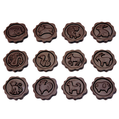 MY52204十二生肖巧克力模